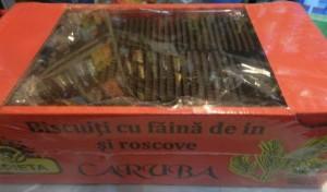 Poza 1 Biscuiti cu Faina de In si Roscove Caruba Spieta