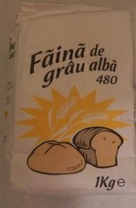 Poza 1 Faina de Grau Alba 480 Baneasa 1Kg