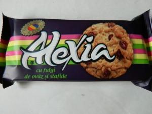 Poza 1 Biscuiti Alexia Fulgi de Ovaz si Stafide 75g