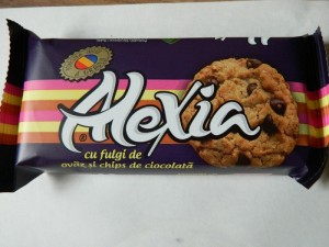Poza 1 Biscuiti Alexia Fulgi de Ovaz si Chips de Ciocolata 75g