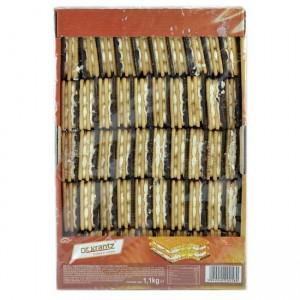Poza 1 Biscuiti Glazurati Crema Frisca si Crema Vanilie Dr. Krantz 1.1kg
