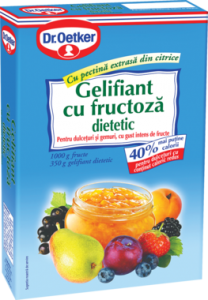 Poza 1 Gelifiant cu Fructoza Dietetic Dr. Oetker