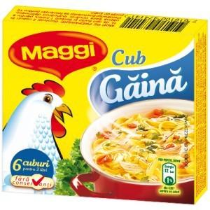 Poza 1 Cub Gaina Maggi (6 cuburi)