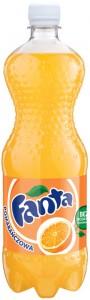 Poza 1 Fanta portocale 1L
