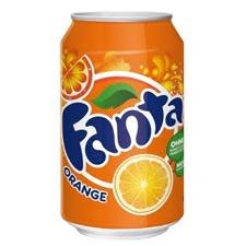 Poza 1 Fanta portocale 0.33L cutie