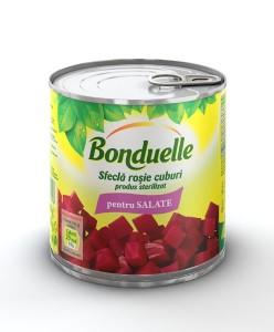 Poza 1 Sfeclă roşie Bonduelle, cuburi, 425 ml