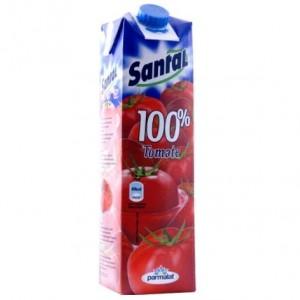 Poza 1 Santal Tomate 100% cutie carton 1L