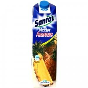 Poza 1 Santal Nectar Ananas cutie carton 1L