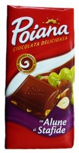 Poza 1 Ciocolata Poiana  Alune si Stafide