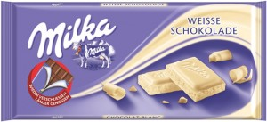 Poza 1 Milka Ciocolata Alba 100g