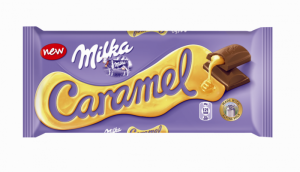 Poza 1 Milka Ciocolata Lapte umpluta cu Caramel 100g