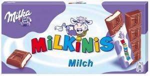 Poza 1 Milka Milkinis Ciocolata Lapte 87.5g