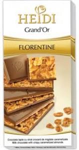 Poza 1 Heidi Grand'or Ciocolata cu strat Migdale Florentine 100g