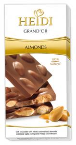 Poza 1 Heidi Grand'or Ciocolata cu Migdale 100g