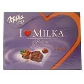 Poza 1 I Love  Milka cu Crema Alune de Padure 120 g