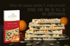 Poza 1 Heidi Gourmet Portocale si Seminte 100g