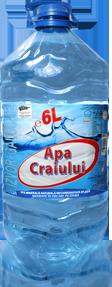 Poza 1 Apa Minerala Naturala Necarbogazificata (Plata) Apa Craiului 6L