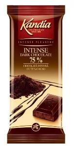 Poza 1 Kandia Ciocolata Intensa cu 75% cacao 80g