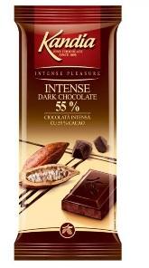 Poza 1 Kandia Ciocolata Intensa cu 55% cacao 80g