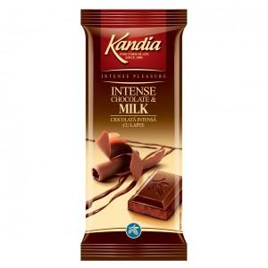 Poza 1 Kandia Ciocolata Intensa cu Lapte 80g