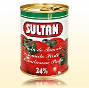 Poza 1 Pasta tomate cutie Sultan 400g