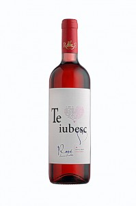 Poza 1 Vin Rose Demidulce Recas TE IUBESC! 0.75L