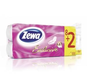 Poza 1 Hartie Igienica Zewa Exclusive 8+2 role