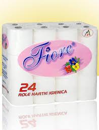 Poza 1 Hartie Igienica Fiore Super Soft Alba 24 role 2 straturi