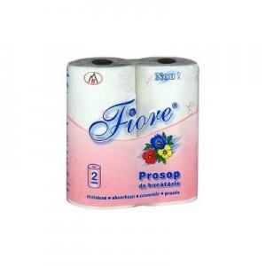 Poza 1 Prosoape Bucatarie Fiore 2 role 2 straturi