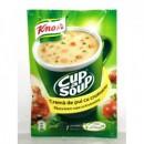 Foto Supa Crema Pui cu Crutoane Instant Knorr 18g