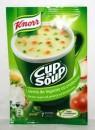 Foto Supa Crema Legume cu Crutoane Instant Knorr 16g