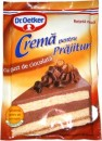 Foto Crema pentru Prajituri cu gust de Ciocolata Dr. Oetker 55g