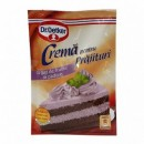 Foto Crema pentru Prajituri cu gust de Fructe de Padure Dr. Oetker 50g