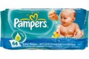 Foto Servetele Umede Aloe Vera Pampers Baby Fresh 64buc