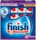 Foto Detergent Tablete Masina Spalat Vase Finish Quantum 40 buc