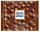 Foto Ciocolata cu Lapte si Alune Intregi Ritter Sport 100g