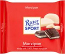 Foto Ciocolata Amaruie cu Umplutura de Marzipan Ritter Sport 100g