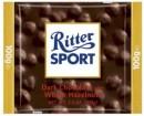 Foto Ciocolata Amaruie cu Alune Intregi Ritter Sport 100g