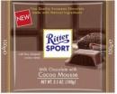 Foto Ciocolata cu Lapte si Crema Usoara de Cacao Ritter Sport 100g
