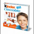 Foto Batoane Ciocolata cu Crema Lapte Kinder 50g