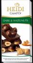 Foto Heidi Grand'or Ciocolata Amaruie cu Alune 100g