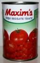 Foto Rosii decojite taiate Maxim's 400g